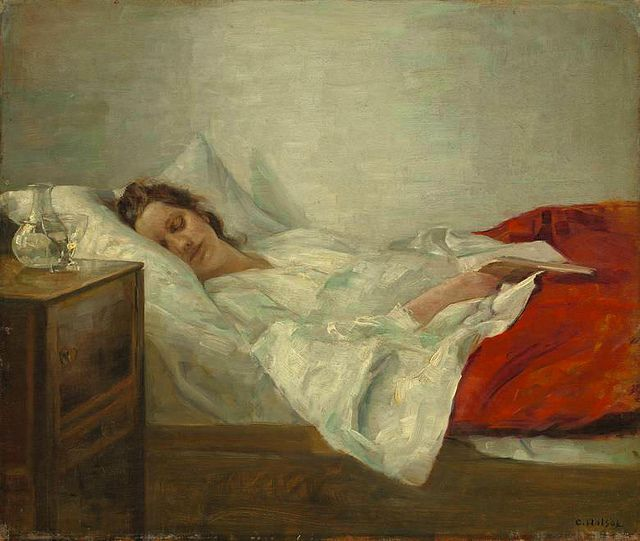 Carl Holsøe 'Sleeping Woman'