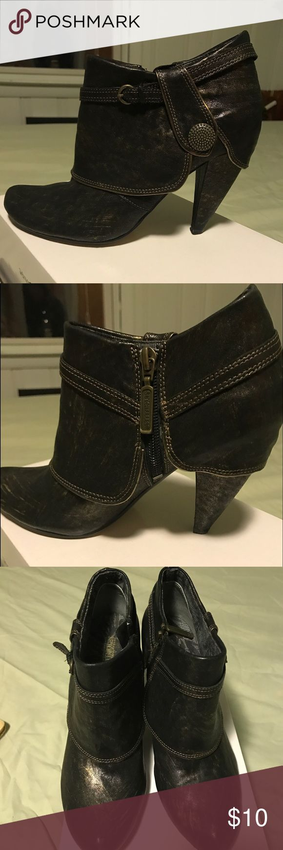 Women's Boots Ankle ladies black boots size 6.5 Sychelles Shoes Ankle Boots & Booties