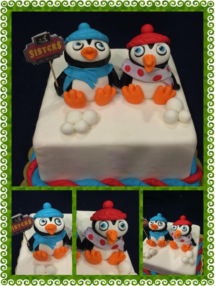 PINQUINS XMAS CAKE!