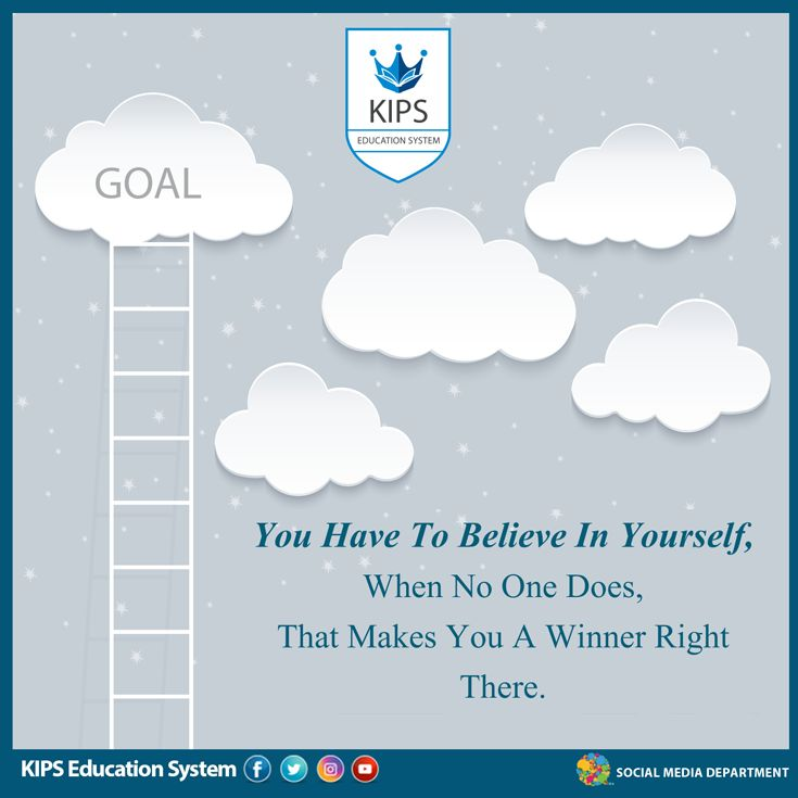 You have to believe in yourself, when no one does. That make you a winner right there. KIPS Education System is one of the best institutes that is preparing students for entry tests preparation. Their KIPS Entry Tests Preparation institute is dedicated for preparing students for MCAT, ECAT, NUMS, NUST, AGA KHAN and other medical and engineering universities.