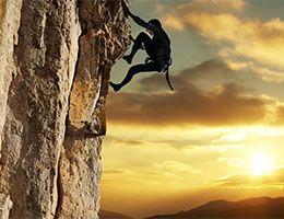 Practicar alpinismo para superar mi miedo a las alturas