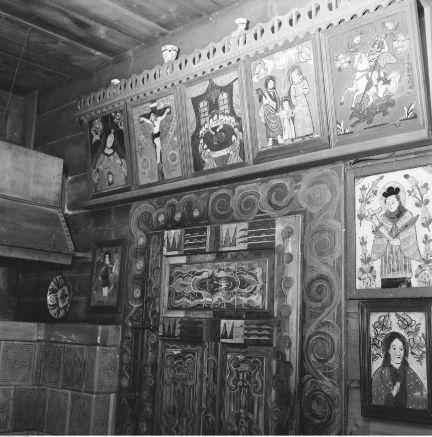 the interior of Jana Kasprowicza's villa