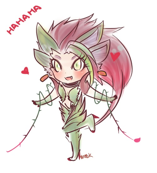 zyra-of-the-thorns: | LoL (Chibi) | Pinterest