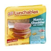 Lunchables Lunch Combinations Ham Cheddar 3.4 oz