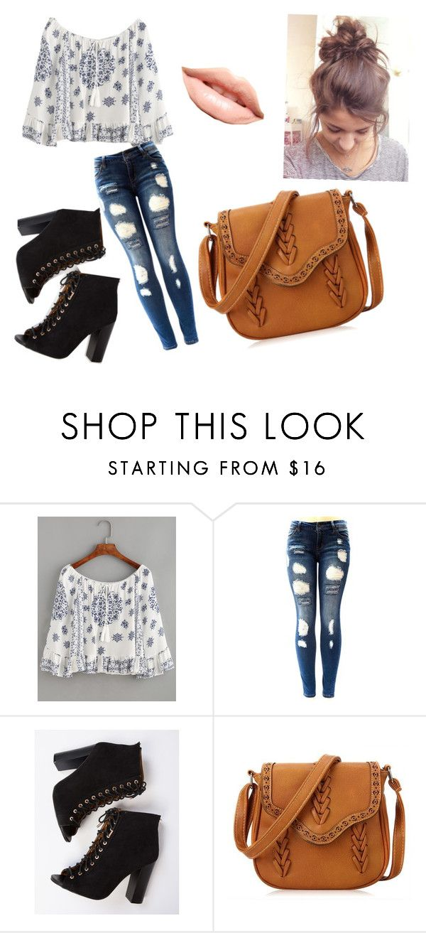"""""""The cute outfit"""" by ashrushzoo ❤ liked on Polyvore featuring MDMflow"""