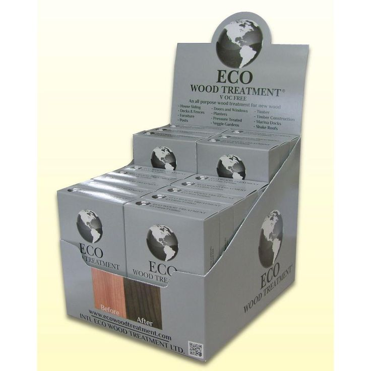Intl Eco Wood Treatment 1-gal. Exterior/Interior Wood Stain and Preservative