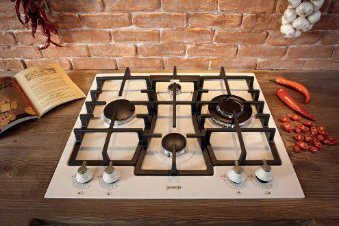 Plynová varná deska. Designová linie Classico od Gorenje. #gorenje #design #simplicity #spotrebice #appliances #home #domov #varnadeska