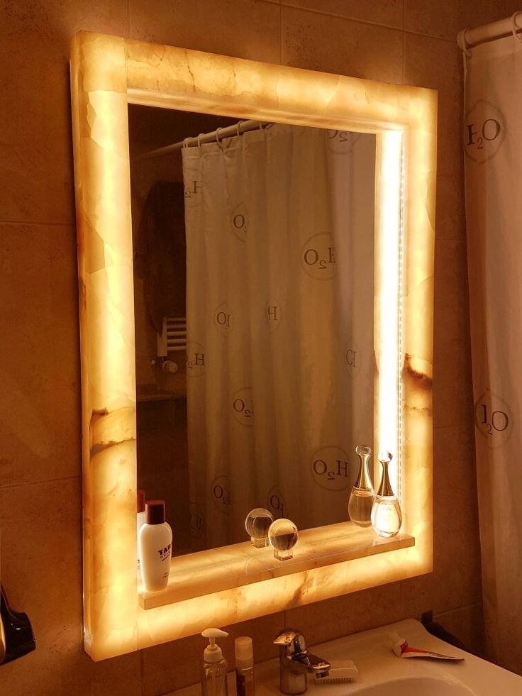 Washbasin mirror lamp, Onix, LED, home design&made
