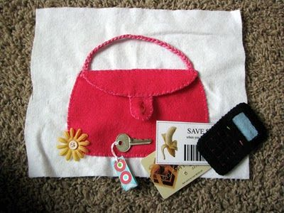 purse with treasure inside