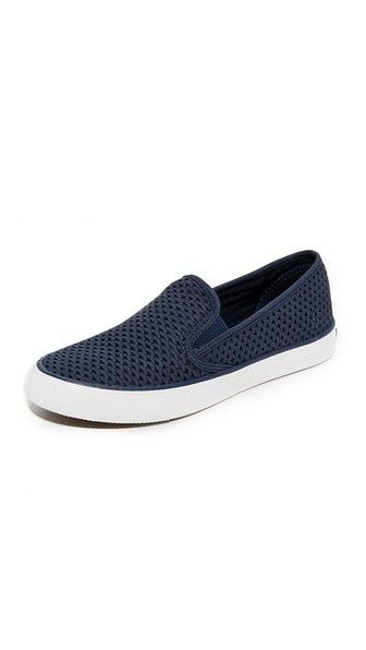 Get this Sperry's loafers now! Click for more details. Worldwide shipping. Sperry Seaside Perforated Slip On Sneakers: Casual Sperry slip-on sneakers updated in perforated suede. Elastic gore insets and padded footbed. Rubber sole. Leather: Cowhide. Imported, Vietnam. This item cannot be gift-boxed. (mocasines, mocasín, slip-on, loafer, slip-ons, loafers, moccasins, slip on, mokassins, mocasines, mocassins, mocassini, mocasines)