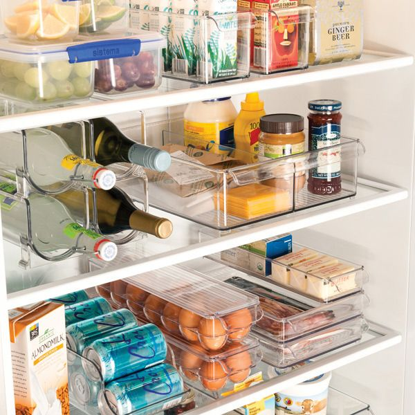 The most organized fridge I've ever seen. Serious inspiration for mine!