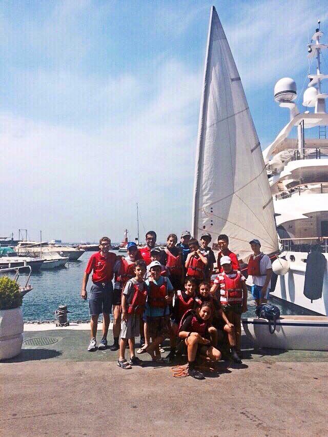 I ragazzi della #scuolavela dello #yacht #club #capri ! Venite ad iscrivervi anche Voi alla nostra scuola vela !