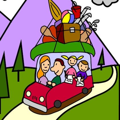 Travel Activity: On-the-Go Packet- great for road trips- geared toward elementary age