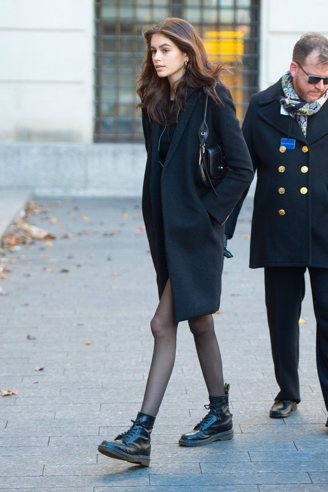 Winter Boots   Kaia gerber style