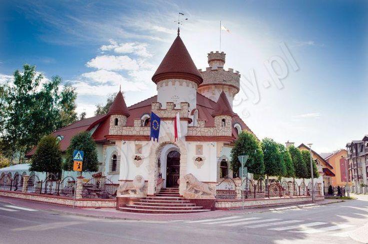 Castle under Brzozami, Krynica-Zdroj, Malopolskie province, Poland.