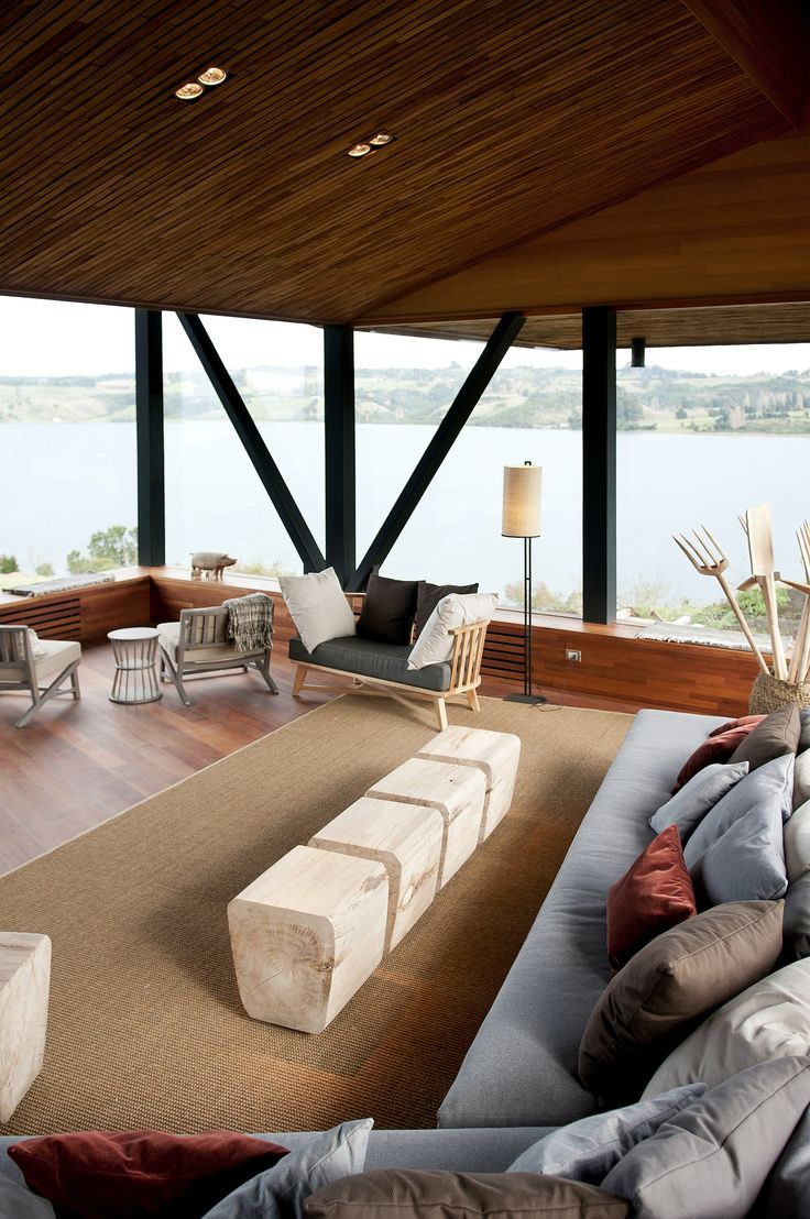Refugia Lodge, Chiloé Island #travel #stay #Chile
