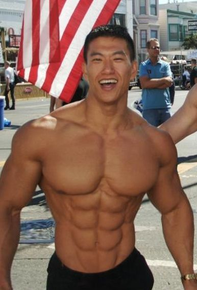 Asian Muscle Man 50
