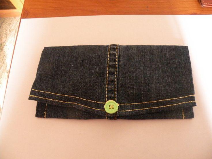 portafoglio donna jeans di bandullera su DaWanda.com