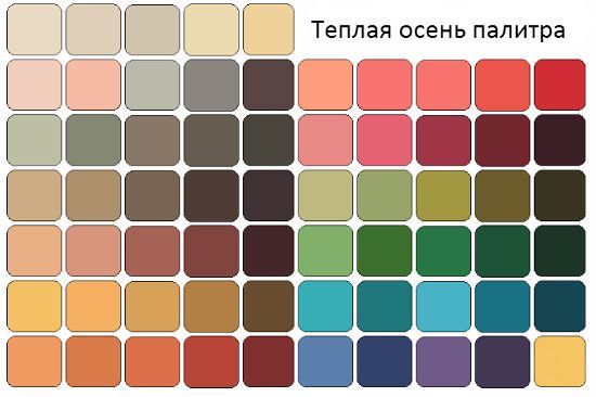 цветотип мягкая осень - Google Search