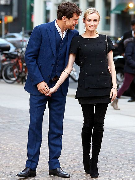 The best dressed couple in the biz. Seriously, this is them just out and about in NYC.