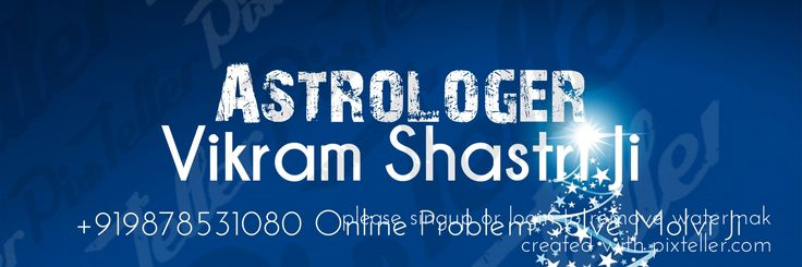 Check out my new PixTeller design! :: Astrologer vikram shastri ji +919878531080 online problem so...