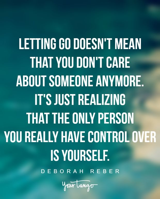 Get ex back by moving on