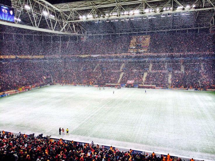 Juve maçı kar