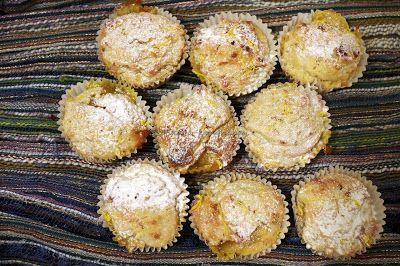 Szofika a konyhában...: Triplán citromos muffin