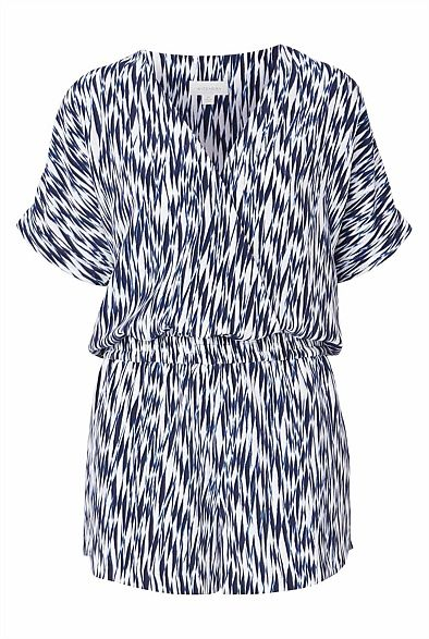 Women's Spring & Summer Fashion 2014 | Witchery Online - Cross Over Print Playsuit $130
