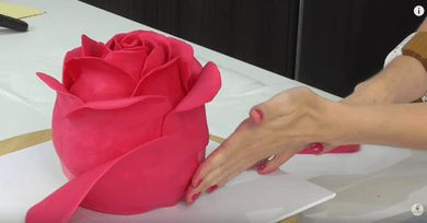 Yes, that rose you see there is a CAKE, and it wasn't made by magic. Instead, it's the creation of cake-decorating genius Cake Style, out of vanilla cake, buttercream, and modelling chocolate - and she wants to teach us how to do it, too!