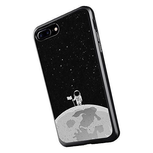 Inonler Astronaute Tenant Un Drapeau sur la Lune Silicone Souple ...