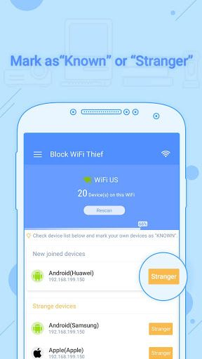 Block WiFi Thief Pro version - Ads Free! v1.0.7   Block WiFi Thief Pro version - Ads Free! v1.0.7Requirements:4.0.3 and upOverview:Block WiFi Thief Pro is a exclusive version for users who want to avoid Ads.  Do you want to know if someone is connected to your wireless network without your permission?  Do you want to know if someone are stealing your WiFi when your connection is slow and who is on my WiFi download something?  Are you sure nobody is spying your Network communications?  Are…