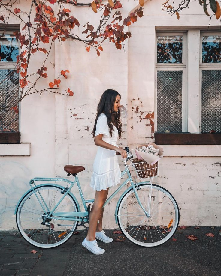 Riding Into The Weekend Travel Style Instagram Inspiration Bicycle