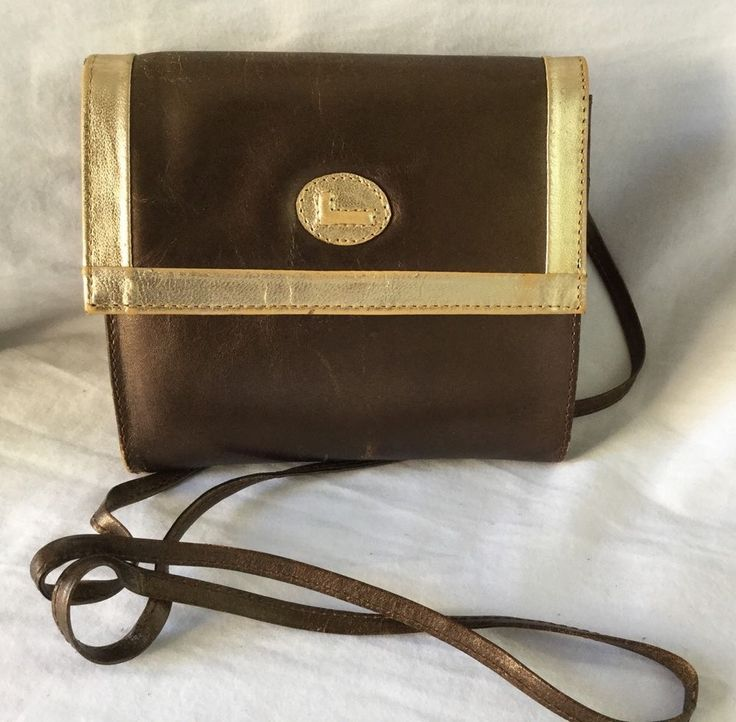 Vintage YSL Yves Saint Laurent Leather Crossbody in Clothing, Shoes &  Accessories, Women's Handbags