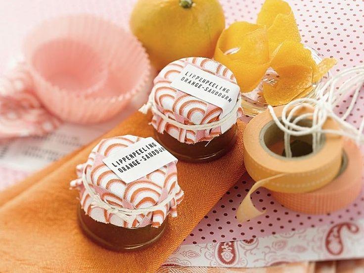 DIY-Anleitung: Lippenpeeling mit Orange und Sanddorn selber machen via DaWanda.com
