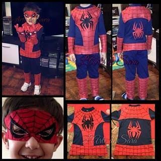Spiderman disguise made by https://www.facebook.com/Magie-di-feltro-by-LArte-di-Sara-368888759959650/ *********** ****** Le Maddine & Maddy ****** ***** https://www.facebook.com/groups/531953423561246/ ***** #madeinfacebook #lemaddine #handmade #handcrafted #instagram #instapic #instagood #picoftheday #instacool #handmade #cool #cute #carnival #boy #spiderman #blue #red #disguise #sewing #embroidery #clothes #dress #lartedisara