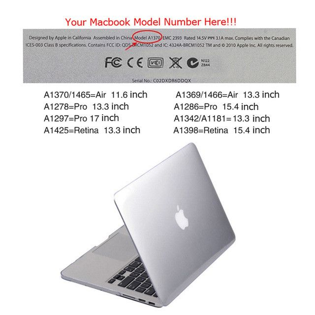 """SKULL BRO Hot Sale Glossy Crystal Hard Case Cover for MacBook Air 11/13"""" Pro Retina 13/15"""" New 12"""" Free Shipping"""