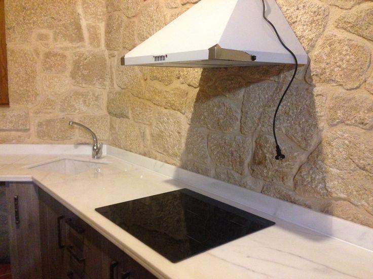 M s de 1000 ideas sobre cocina de m rmol blanco en - Limpieza marmol blanco ...
