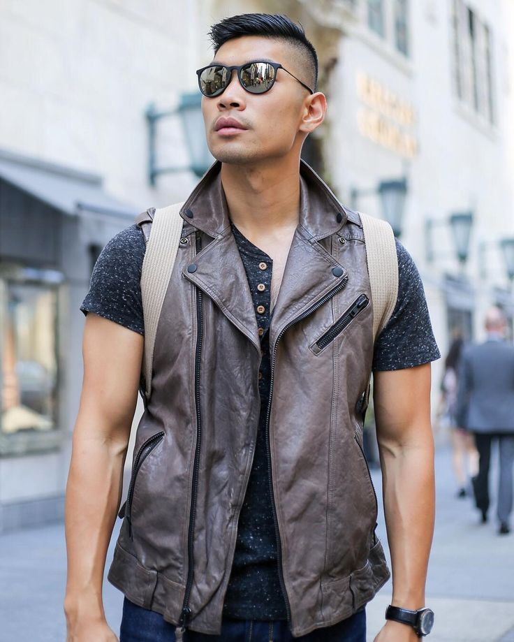 NYFW Street Style ft. @century21stores is BLOGGED link in bio! Check out the full post on @houseofmackage vest & @diesel henley http://ift.tt/10fRvFt - #c21style #LevitateStyle #sponsored #Mackage #Diesel