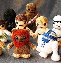 Star Wars Mini Amigurumi : The 119 best images about Knit purl, knit purl & crochet ...