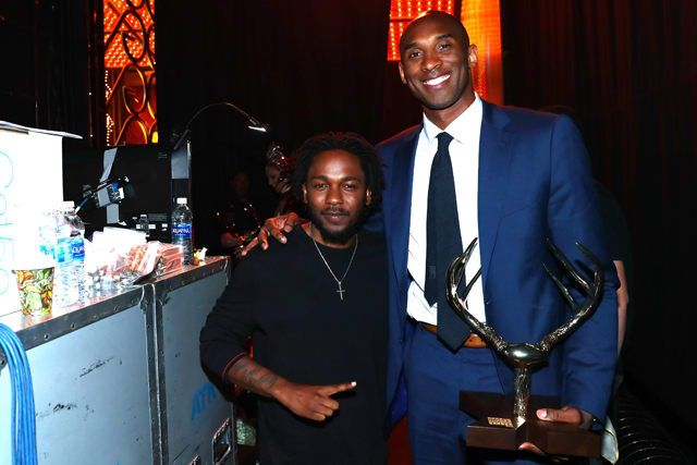 Kobe Bryant Challenges Kendrick Lamar to Offer Support for His High Schools Music Program: #kendricklamar