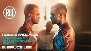 Robbie Williams | Bruce Lee | The Heavy Entertainment Show  Track 6 from The Heavy Entertainment Show the number one album out now: https://RobbieWilliams.lnk.to/hesdeluxeID Tickets for The Heavy Entertainment Show Tour are on sale now! https://RobbieWilliams.lnk.to/ticketsID ========== Bruce Lee lyrics I was a sick child teardrop in the rain now Whole life a hurricane of pain and doubt No redemption if you call my name Im gonna rock you till you say it again and again Im getting better So…