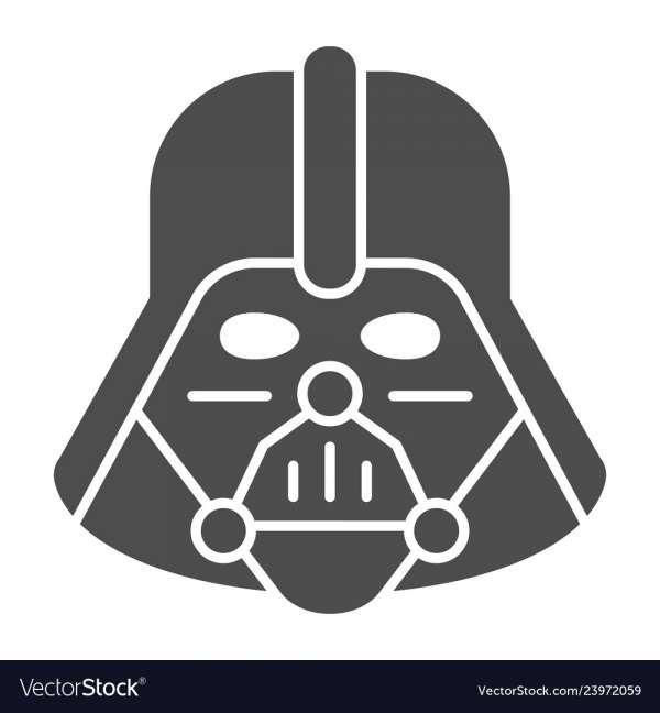 17 Darth Vader Vector Image Darth Vader Vector Darth Vader Stencil Vector Images