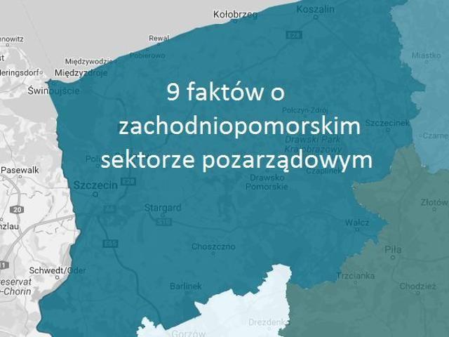 9 faktów o NGO w województwie zachodniopomorskim - wiadomosci.ngo.pl