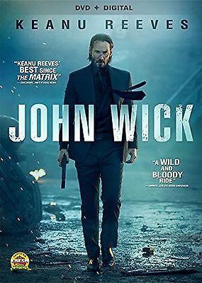 John Wick [DVD + Digital] New Free Shipping