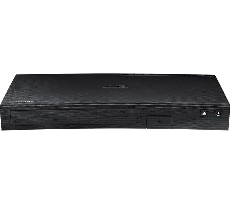 SAMSUNG  BD-J5900 Smart 3D Blu-ray & DVD Player Price: £ 69.99 Get TV on demand and enjoy high-quality movies with the Samsung BD-J5900 3D Blu-ray & DVD Player . It's an update on the previous Samsung BD-H5900 and features an attractive curved design. Built-in WiFi Get instant access to Smart content with no wires needed. Simply switch on your Blu-ray player, connect to your home network and...