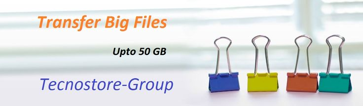 Tecnostore-Group allows computer users to send large files to anyone. Videos, pictures, documents or any other data file that is too large to send as an email attachment can be sent through Tecnostore-Group. For more information call at +41413121391 or mail us service@tecnostore-group.com