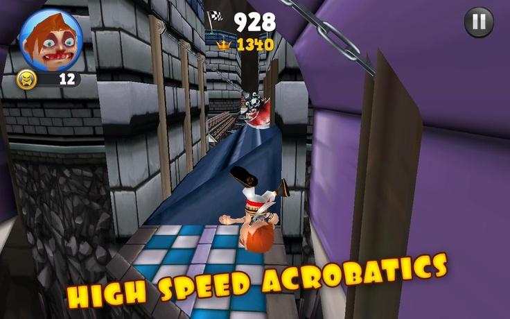3D Macera Oyunları arasında yer alan 3D Koş Fred Koş oyunu orjinal ismi ile (Running Fred) olan bu oyunu sizlerde oynamak istiyorsanız yapmanız gereken tek şey hemen 3D Oyuncu'yu ziyaret etmek olacak.  http://www.3doyuncu.com/3d-kos-fred-kos/