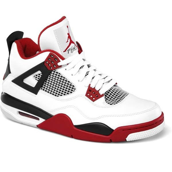 Air Jordan IV Retro White/Red/Black