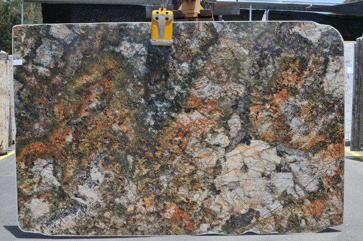Granite Slab Yards : Carnaval Granite @Amazon.com Stone Boutique - ENCINITAS Slab yard www ...